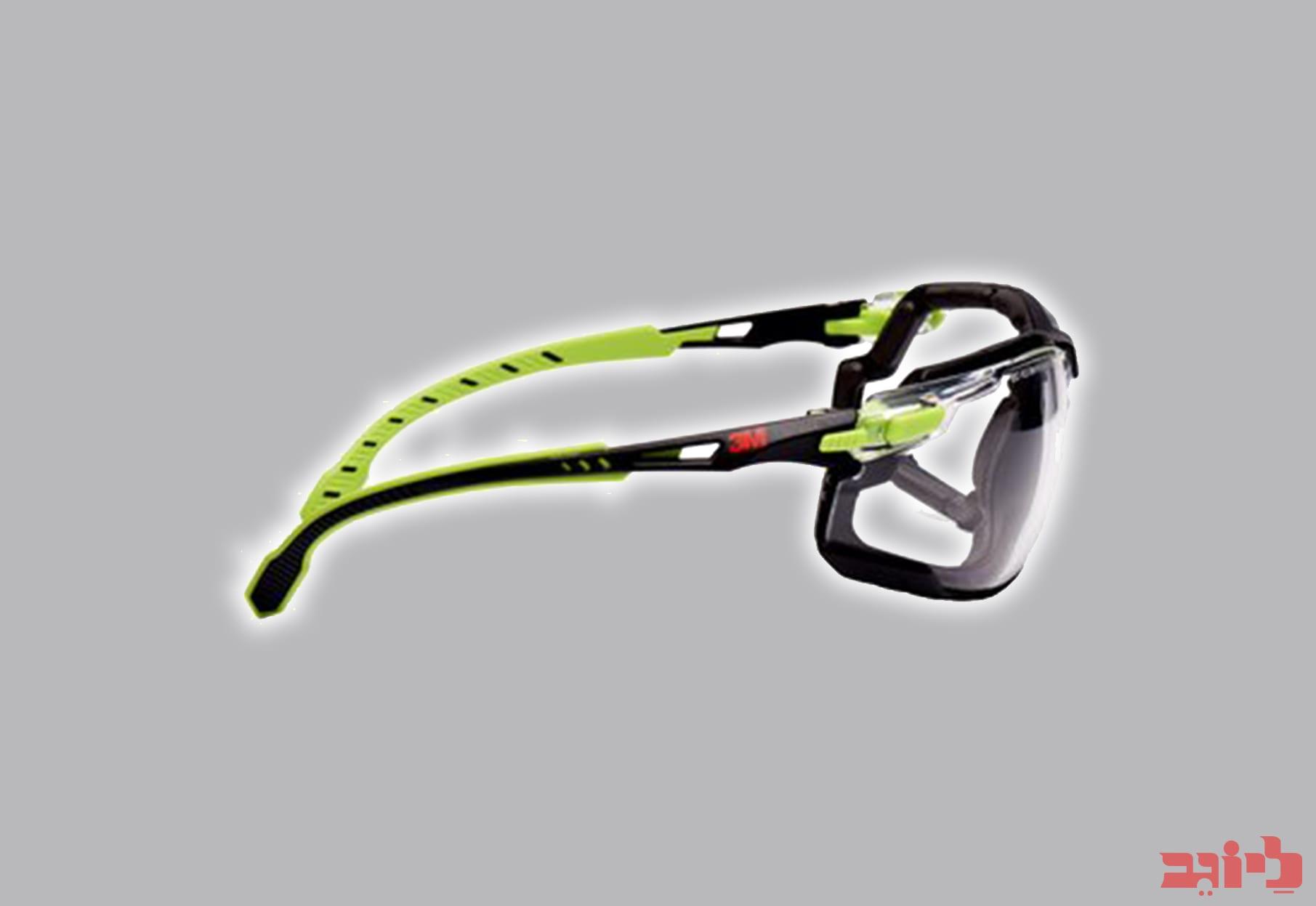 משקפי מגן סולוס ירוק שחור SF1201