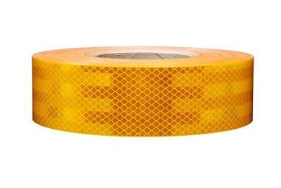 מחזיר אור צהוב דגם יהלום 3M