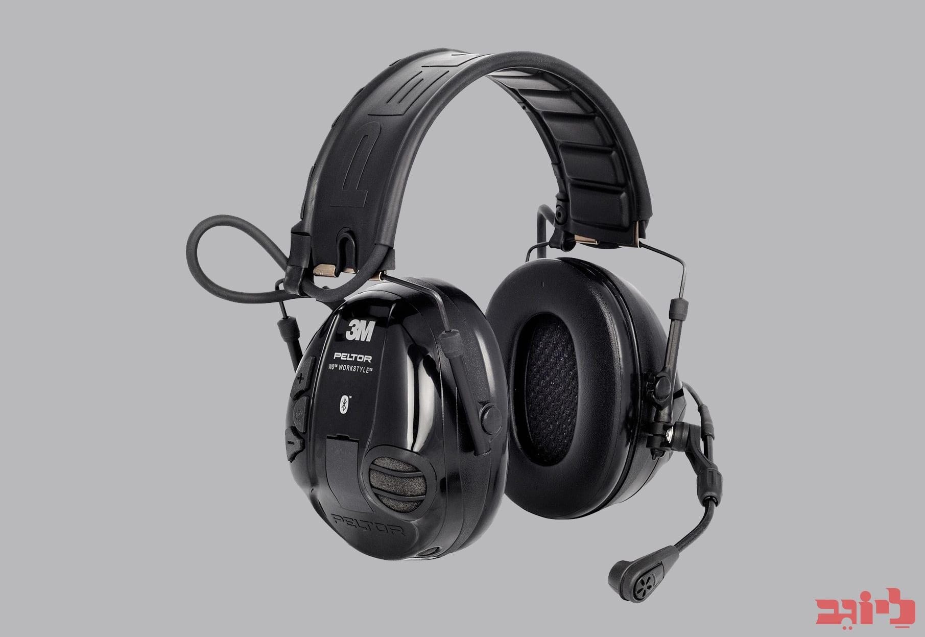 אוזניות הגנה עם חיבור בלוטוס